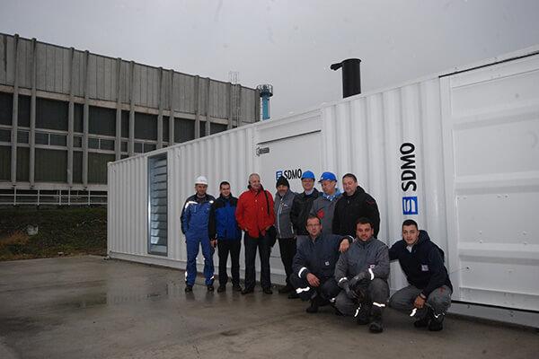 MLS tim u poseti KOHLER SDMO francuskom proizvođaču agregata za struju